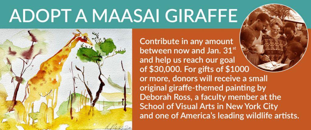 Adope a Maasai Giraffe Today