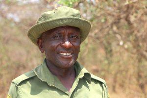 Community Ranger, Senteu_Sitelu, of Rombo Conservancy, Kenya